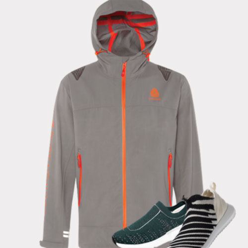 Optim Jacket and shoes